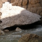 ورودی غار یخی