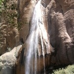 نمایی از آبشار سمیرم