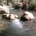 نمایی از رودخانه چشمه ناز